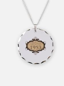1953 Birthday Vintage (Rustic) Necklace