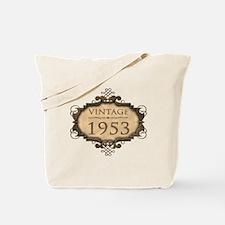 1953 Birthday Vintage (Rustic) Tote Bag