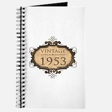 1953 Birthday Vintage (Rustic) Journal