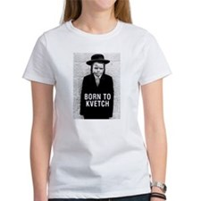 """""""Born to Kvetch"""" cover Tee"""