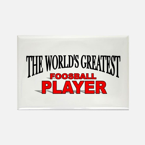 """""""The World's Greatest Foosball Player"""" Rectangle M"""