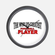 """The World's Greatest Foosball Player"" Wall Clock"