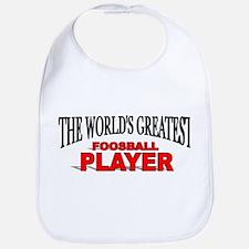 """The World's Greatest Foosball Player"" Bib"