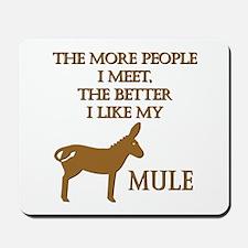 Like My Mule Mousepad