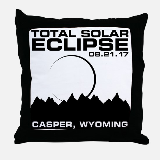 Cool Eclipse Throw Pillow