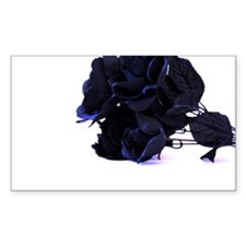 Black Roses with Violet Highlights Decal