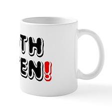 MOTH EATEN! Small Mug