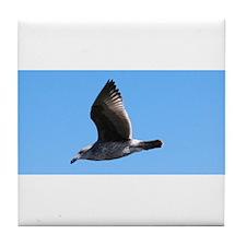 Flying Bird Tile Coaster