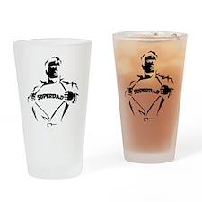 SUPERDAD! Drinking Glass
