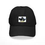 Crevecoeur Chickens Black Cap