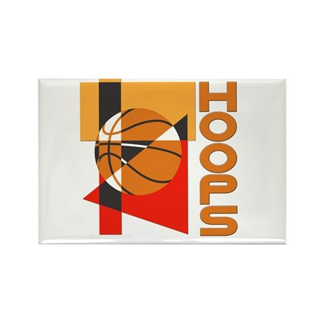 Hoops Rectangle Magnet (10 pack)