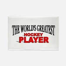 """""""The World's Greatest Hockey Player"""" Rectangle Mag"""