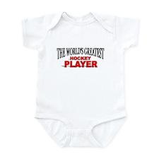 """The World's Greatest Hockey Player"" Infant Bodysu"