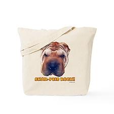 Shar-Peis Rock Tote Bag