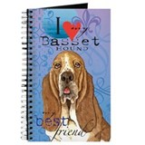 Basset hound Journals & Spiral Notebooks