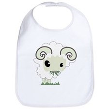 Cartoon Sheep Bib