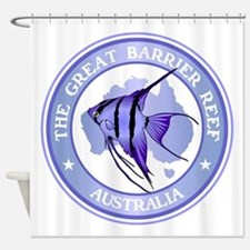 Australia -The Great Barrier Reef Shower Curtain