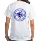 Scuba diving Mens White T-shirts