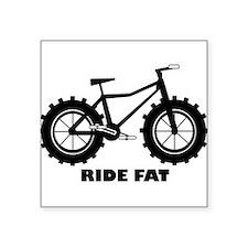 Ride Fat Sticker
