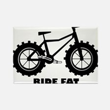 Ride Fat Rectangle Magnet