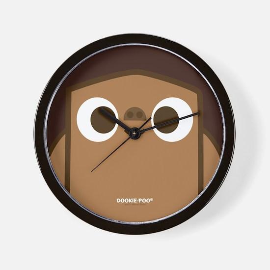 Big Face Dookie-Poo Wall Clock