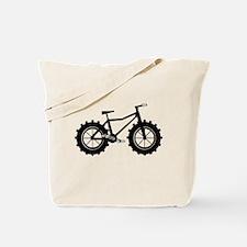 Fat Bike Tote Bag