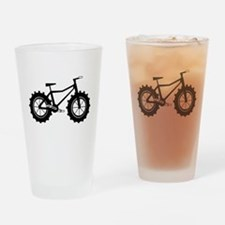 Fat Bike Drinking Glass