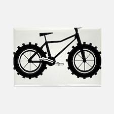 Fat Bike Rectangle Magnet