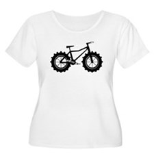 Fat Bike Plus Size T-Shirt