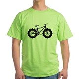 Fat bike Green T-Shirt