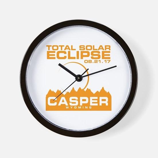 Unique Casper wyoming Wall Clock