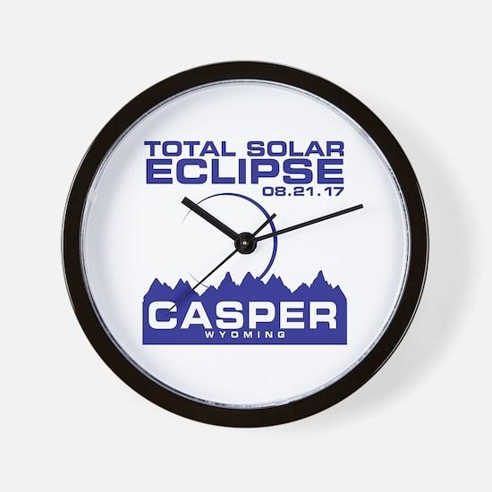 Cute Casper wyoming Wall Clock