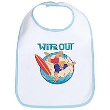 Wipe Out Surfer Bib