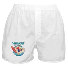 Wipe Out Surfer Boxer Shorts