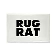 Rug Rat Rectangle Magnet