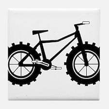 Fat Tire Logo no words Tile Coaster
