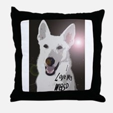 I love my WGSD Throw Pillow