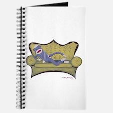 Purple Sock Monkey Journal