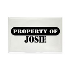 Property of Josie Rectangle Magnet
