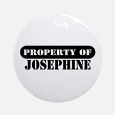 Property of Josephine Ornament (Round)