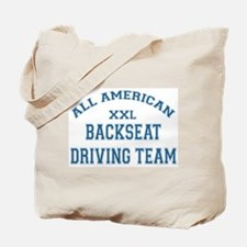 AA Back Seat Driving Team Tote Bag