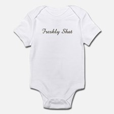 freshly shat Infant Bodysuit