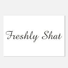 freshly shat Postcards (Package of 8)