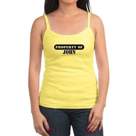 Property of John Jr. Spaghetti Tank