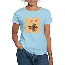 Customizable Knight on Horse T-Shirt