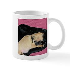 Adorable Sleeping Pug Puppy Mug