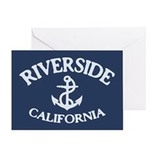 Riverside Sailing Greeting Card