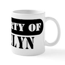 Property of Jocelyn Mug