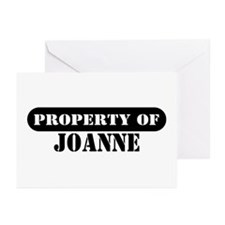Property of Joanne Greeting Cards (Pk of 10)