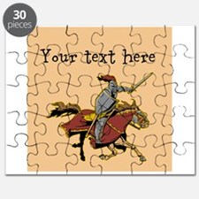 Customizable Knight on Horse Puzzle